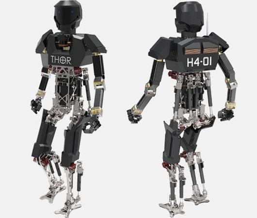 Virginia Tech's THOR (Tactical Hazardous Operations Robot)