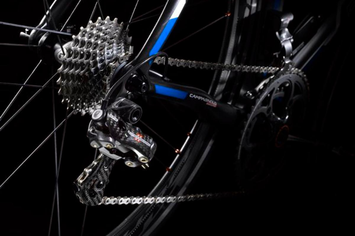 Campagnolo's Super Record EPS rear derailleur