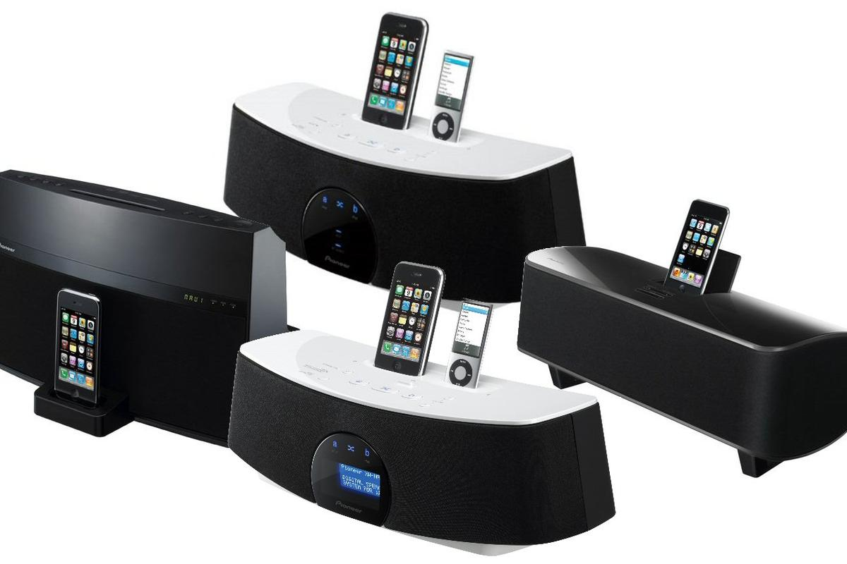 Pioneer has announced the forthcoming availability of four new media player docking stations