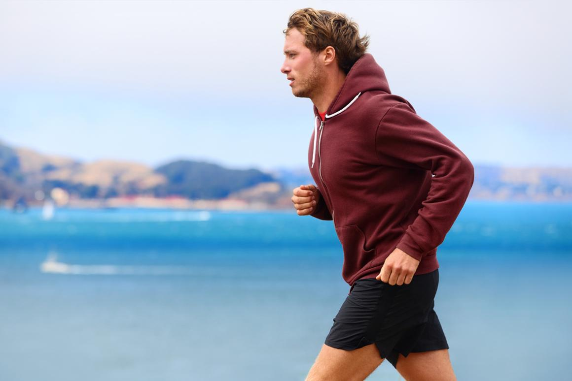 In the future, simply running while wearing your favorite hoodie could be sufficient to charge gadgets carried within it (Photo: Shutterstock)