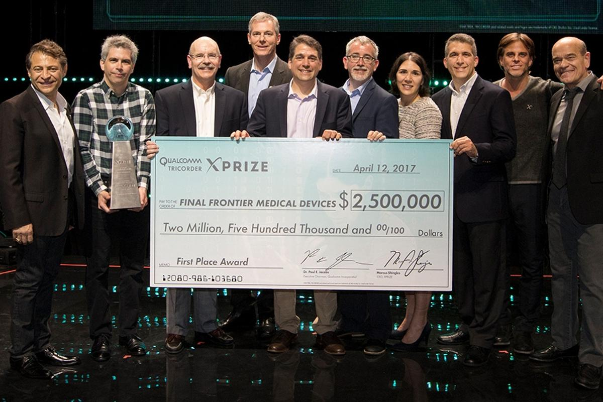 In addition to the money,the Final Frontierwill benefit from ongoing support and funding from XPrize and its partners