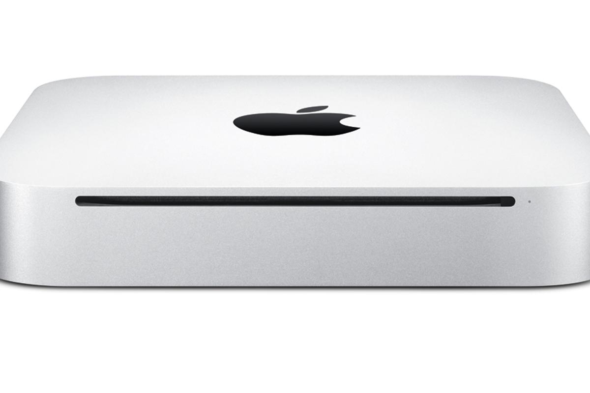Apple has updated its small form factor Mac mini desktop PC adding a HDMI and SD card slot and improved graphics performance