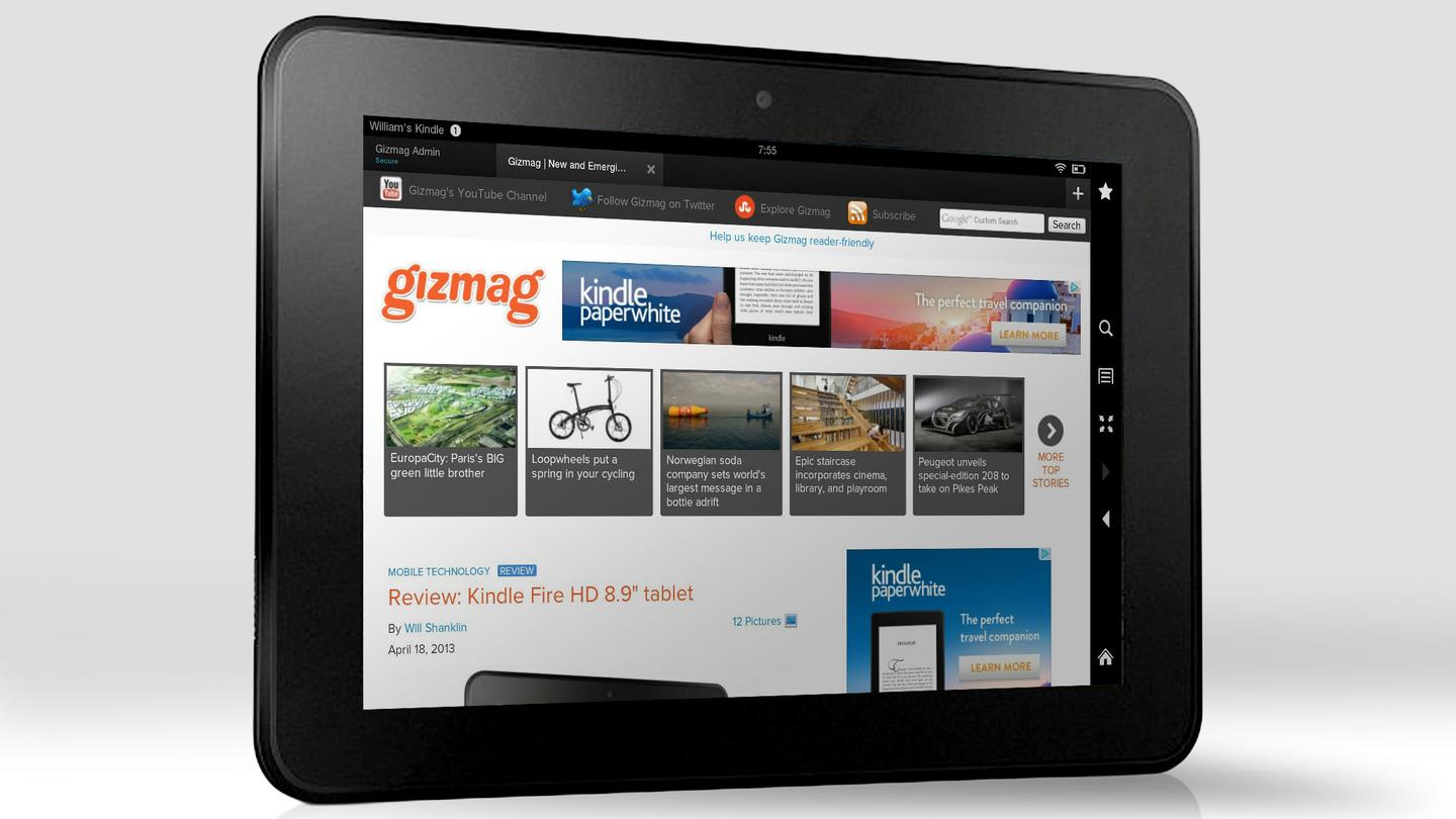 The 2013 Kindle Fire tablets will reportedly sport displays with resolution much sharper than any tablets you can buy today