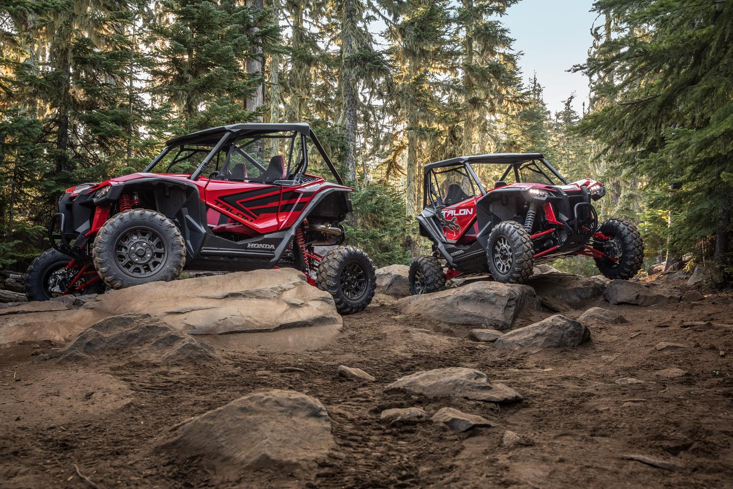 Honda jumps into the SxS game with the new Talon 1000X and 1000R