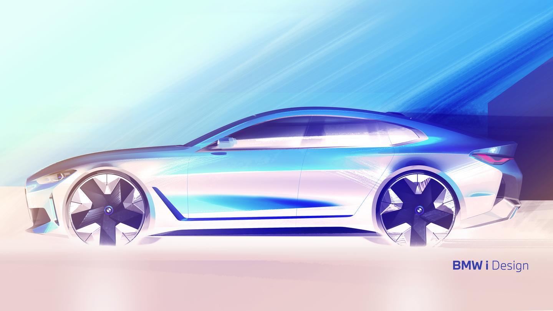 BMW i4 sketch