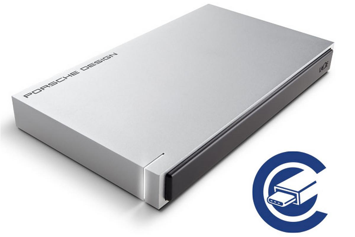 The new portable external hard drives are the first to carry USB-C connectors