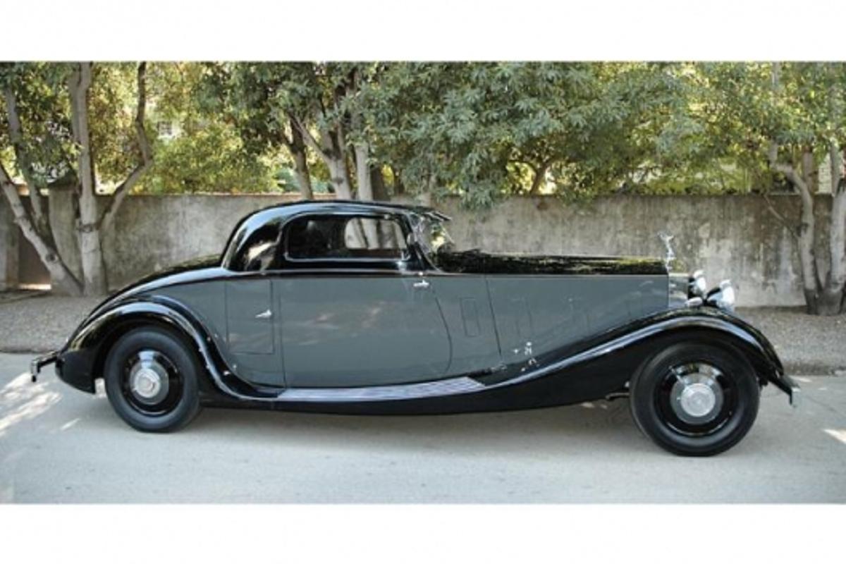 On the block: 1935 Rolls Royce Phantom II