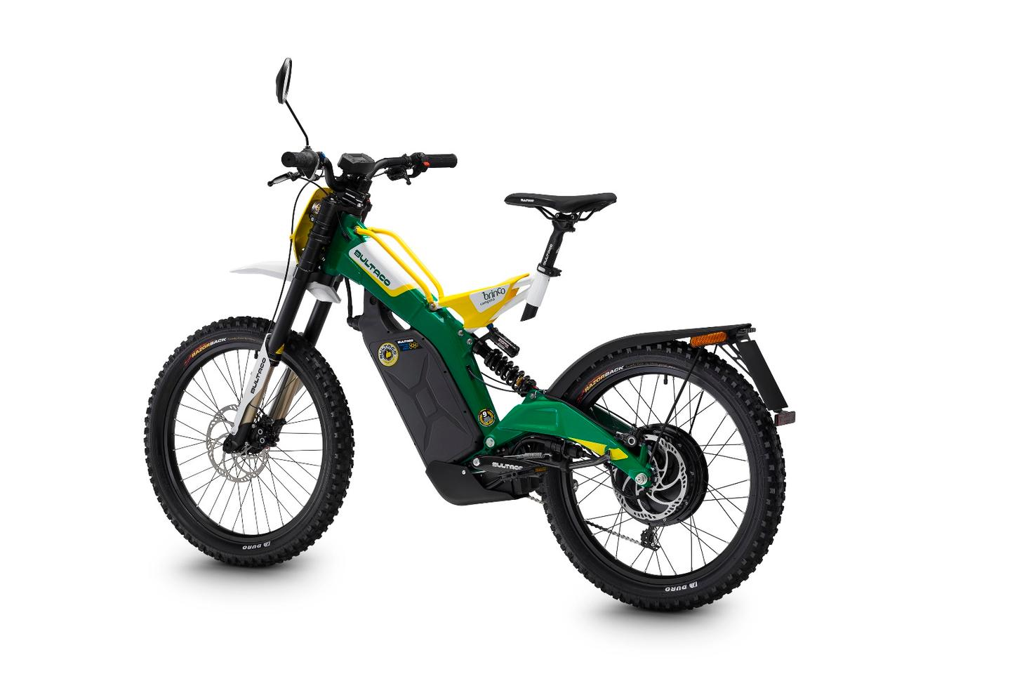 The Brinco C is designed for comfort on and off road