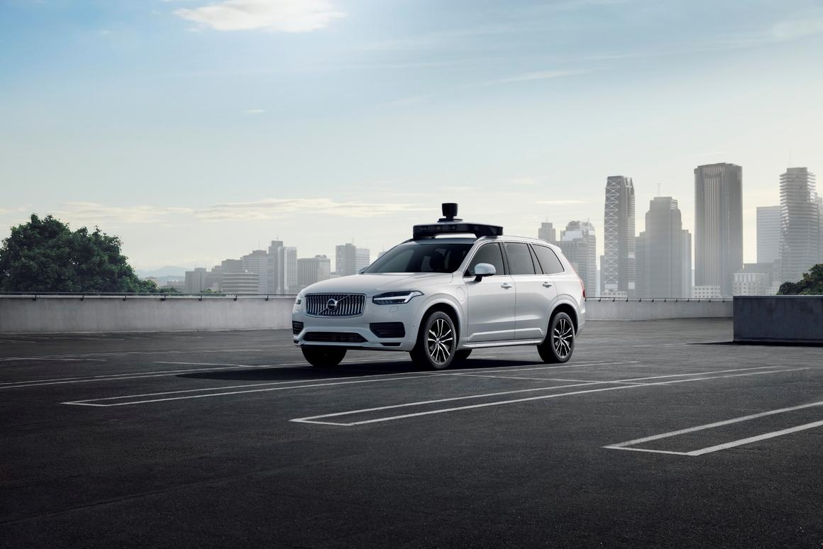 Volvo and Uber's new XC90 is built for plug-and-play autonomy
