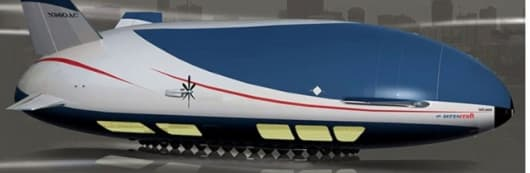 Aeroscraft - the planned new breed of variable buoyancy air vehicle