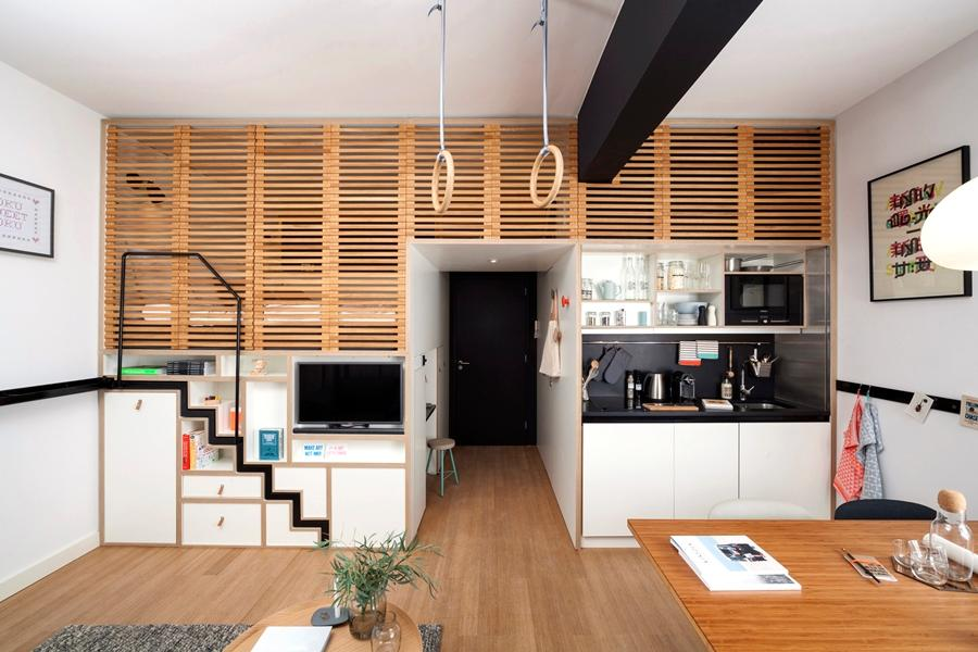 The Zoku Loft is aimed at combining hybrid-living with compact-living