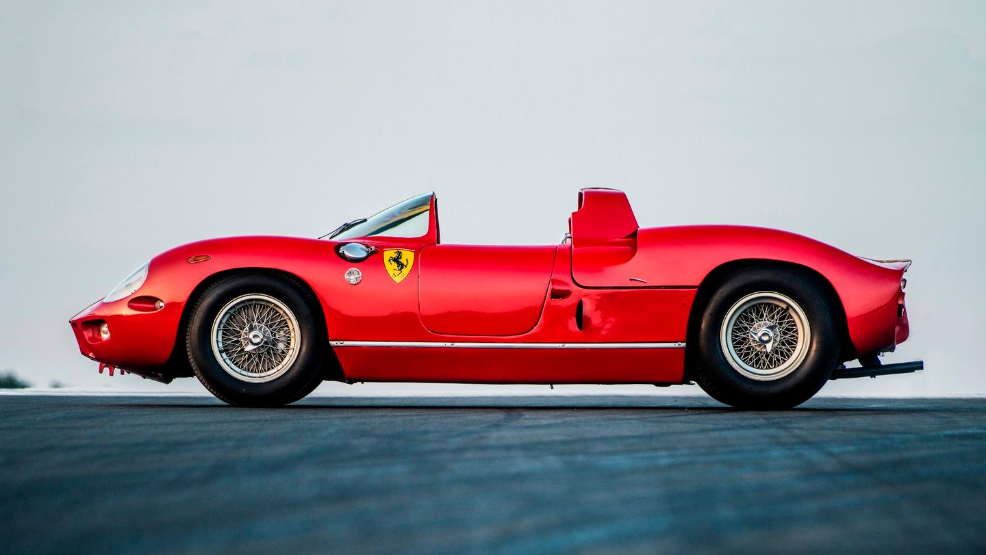 One of the most significant cars in automotive history will most likely sell at Monterey this week, being the 1963 Ferrari 275P that won Le Mans in 1963 and 1964, and the 1964 12 Hours of Sebring. Rather than selling at auction, the 275P will be sold through RM-Sotheby's Private Sales Department which has been set up to provide the discrete brokerage of rare motor cars.