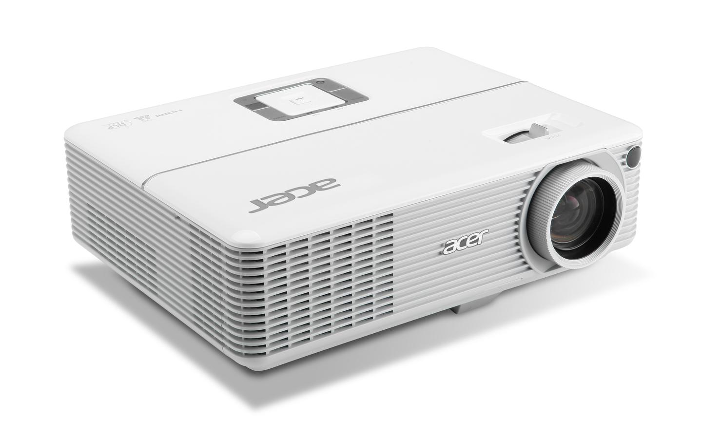 Acer's H6500 projector features a brightness of 2,100 ANSI lumens