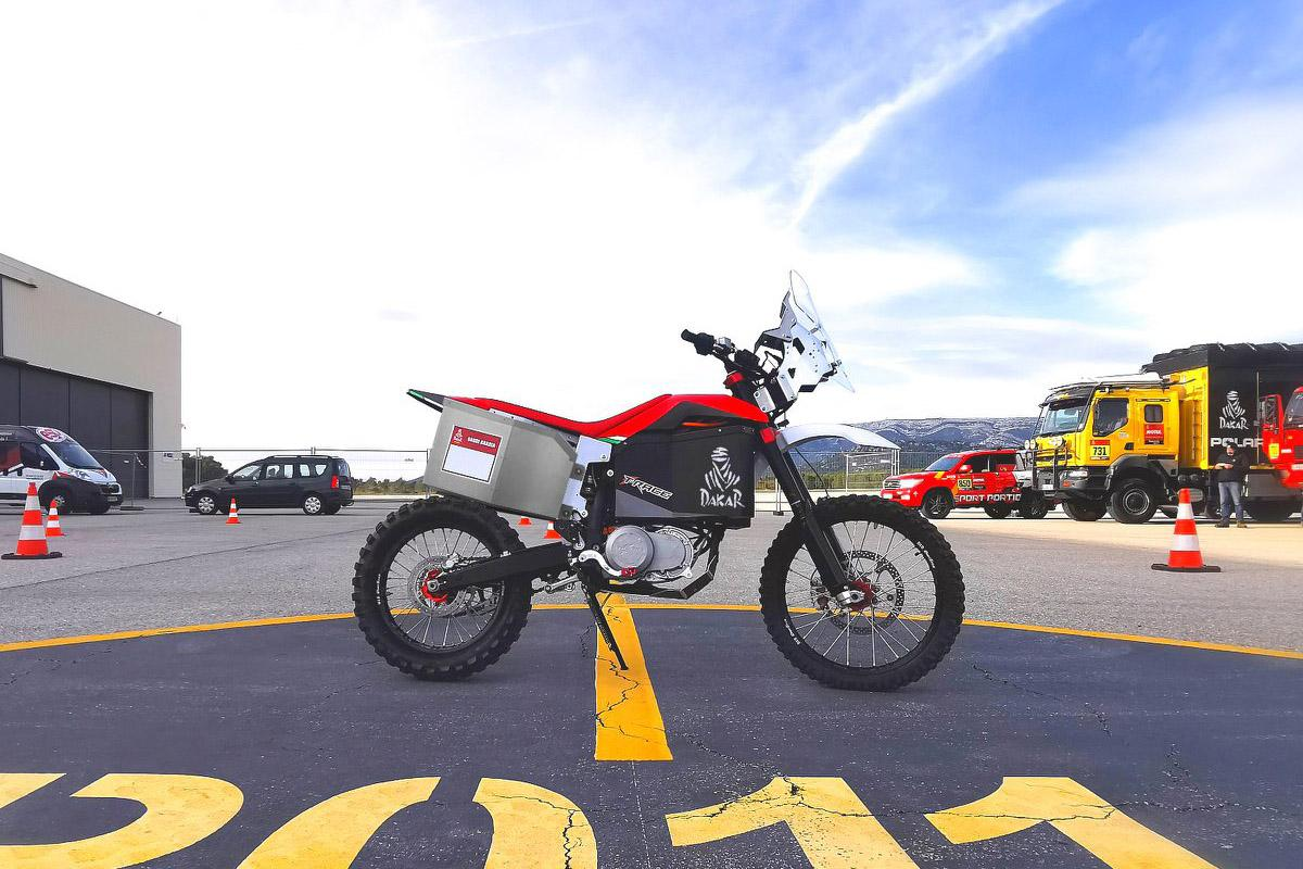 Tacita will debut its 2020 T-Race Rally with a squirt in a special stage at the Dakar rally