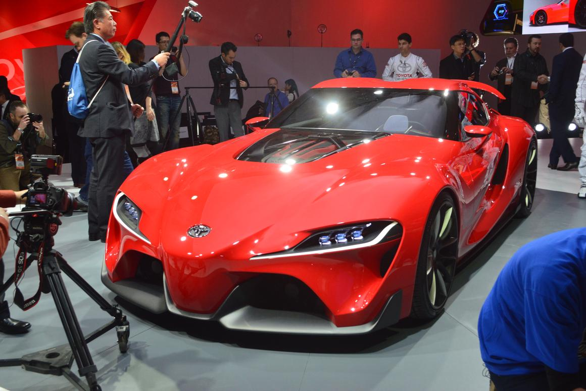 The Toyota FT-1 premieres at the 2014 North American International Auto Show