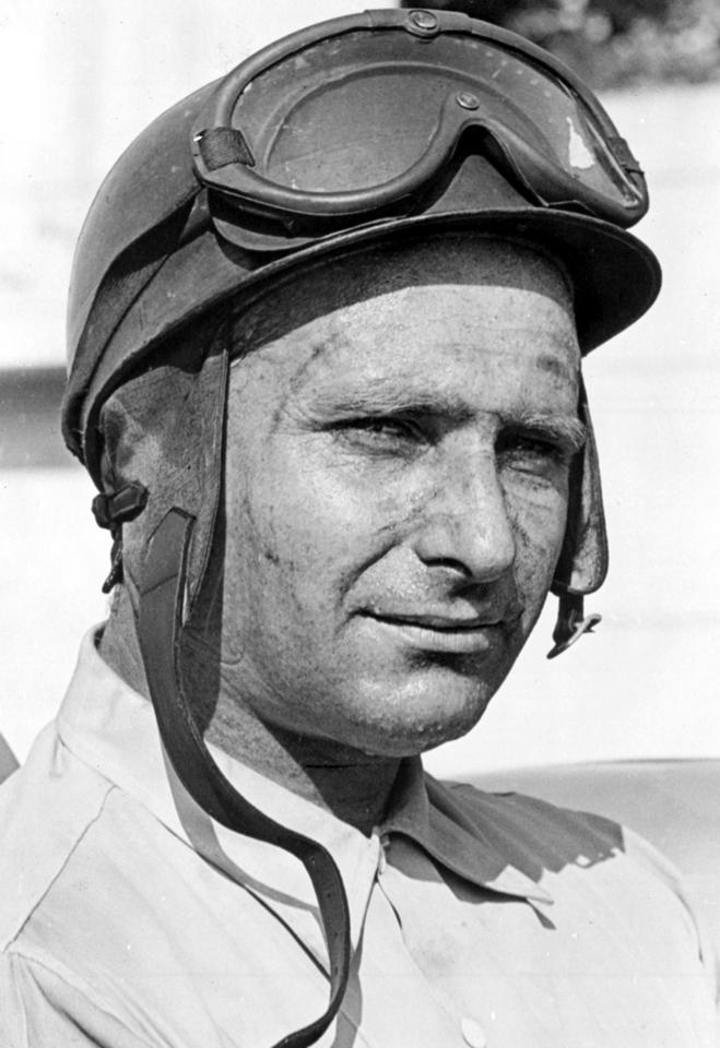Fangio's racing years were largely stolen by the war. When he drove his first F1 race, he was already 38 years of age, yet he went on to win 24 of 52 F1 races, five driver titles with four teams (Alfa Romeo, Ferrari, Mercedes-Benz and Maserati), and still easily retains the highest winning percentage in F1 history - 46%