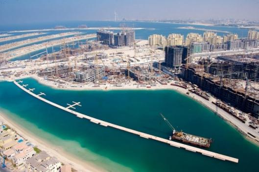 The building of Dubai's islands