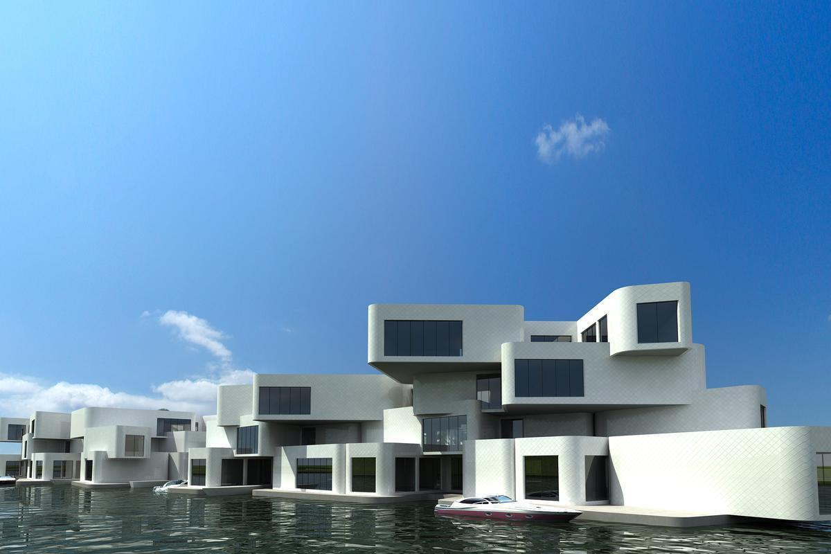 Waterstudio's design for the Citadel