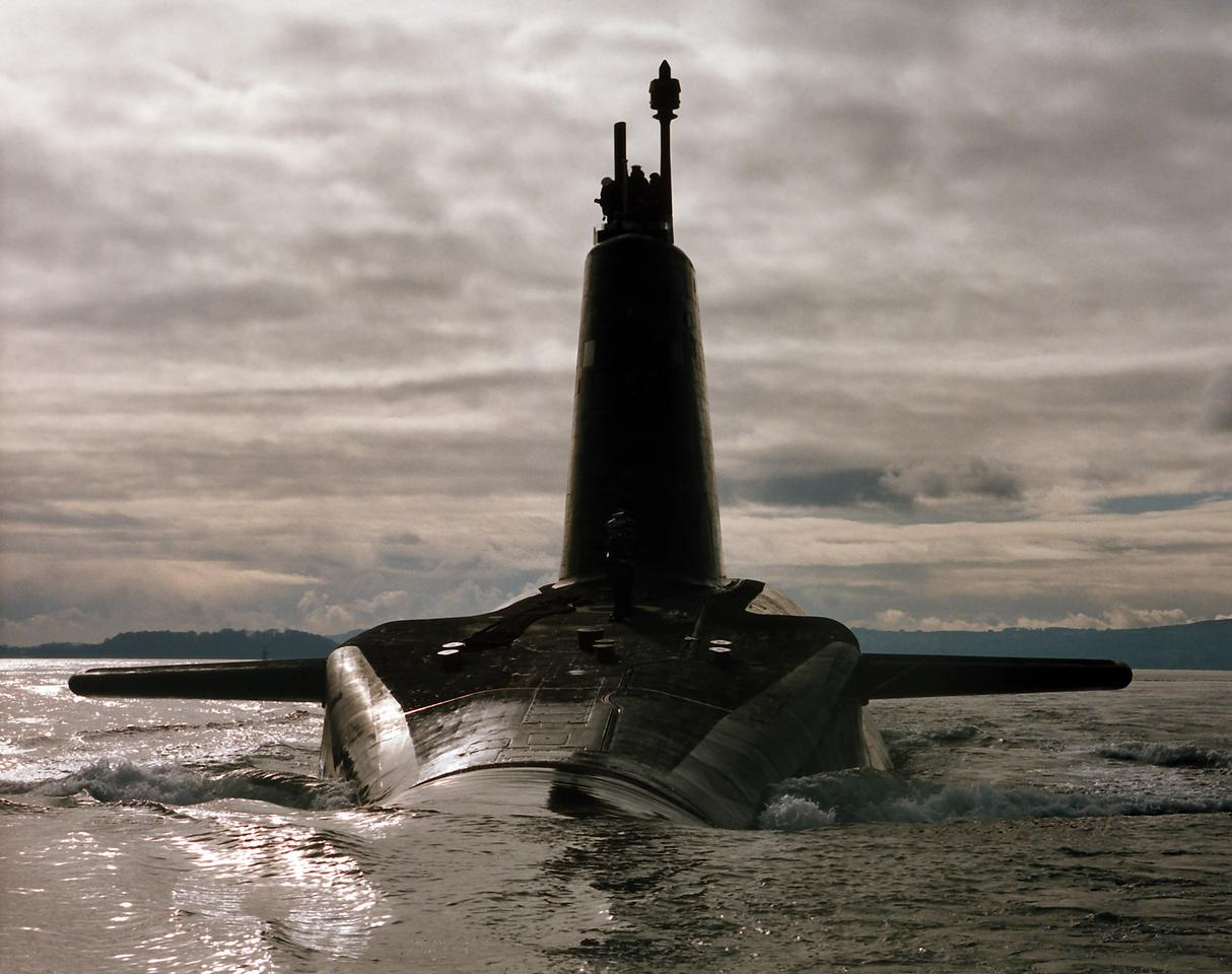 HMS Vanguard (Image: Ministry of Defence)