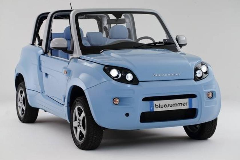 Citroën's new Bluesummer EV – any color they want, as long