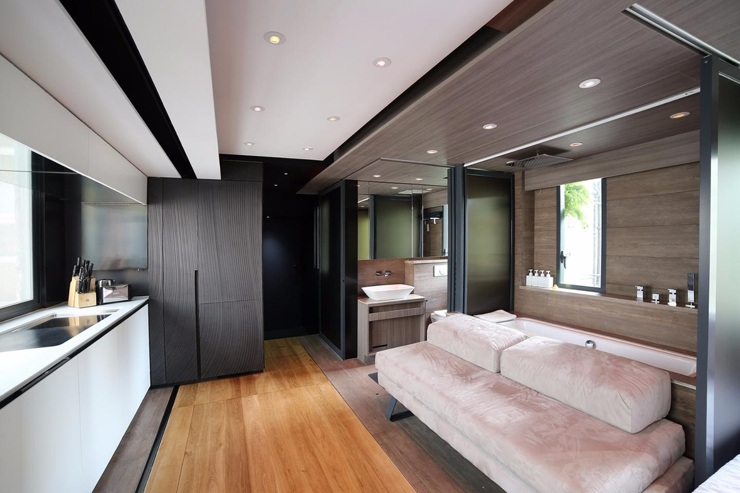 The Small Home Smart Home is located in the Central district of Hong Kong