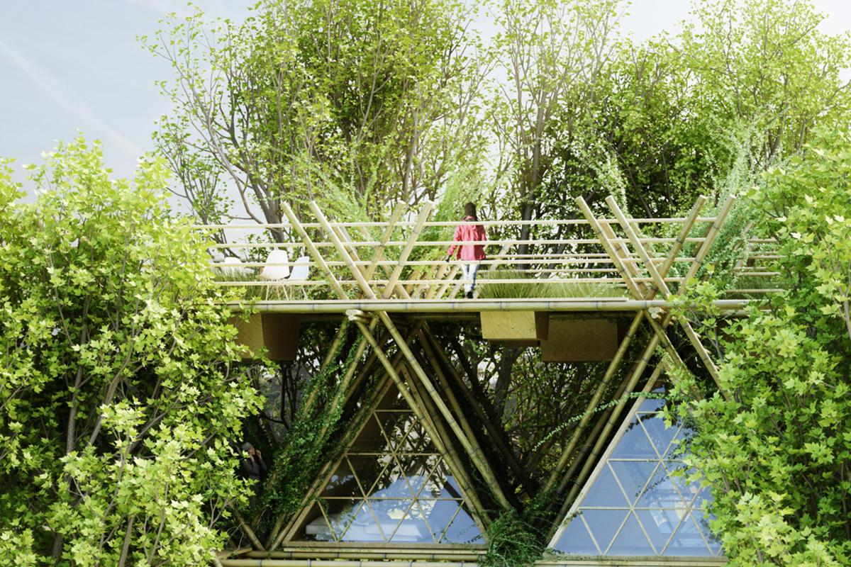 one with the birds, by Beijing-based architecture and design collective Penda (Image: Penda)