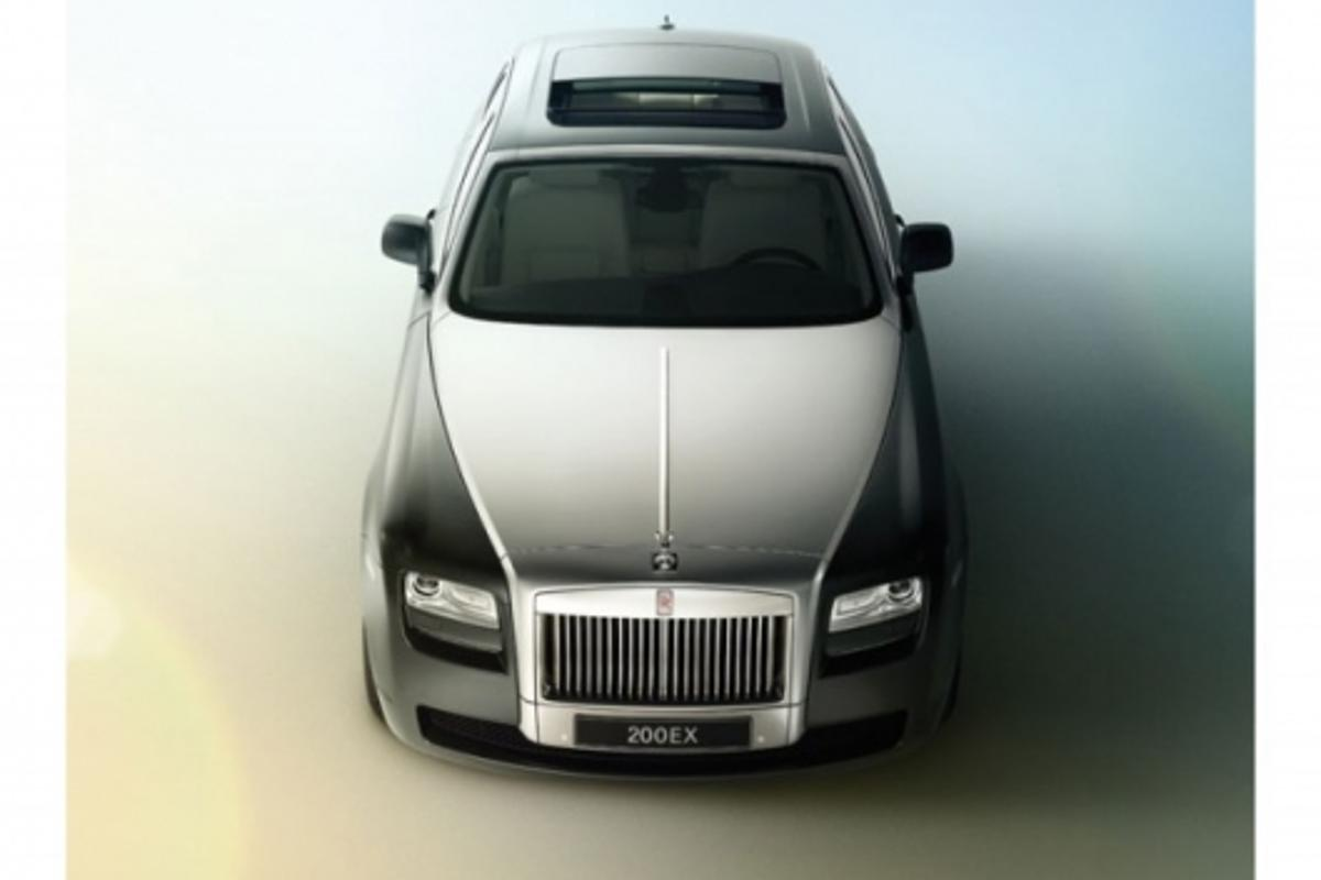 Rolls Royce 200EX - the RR$ production version will arrive sometime in 2010