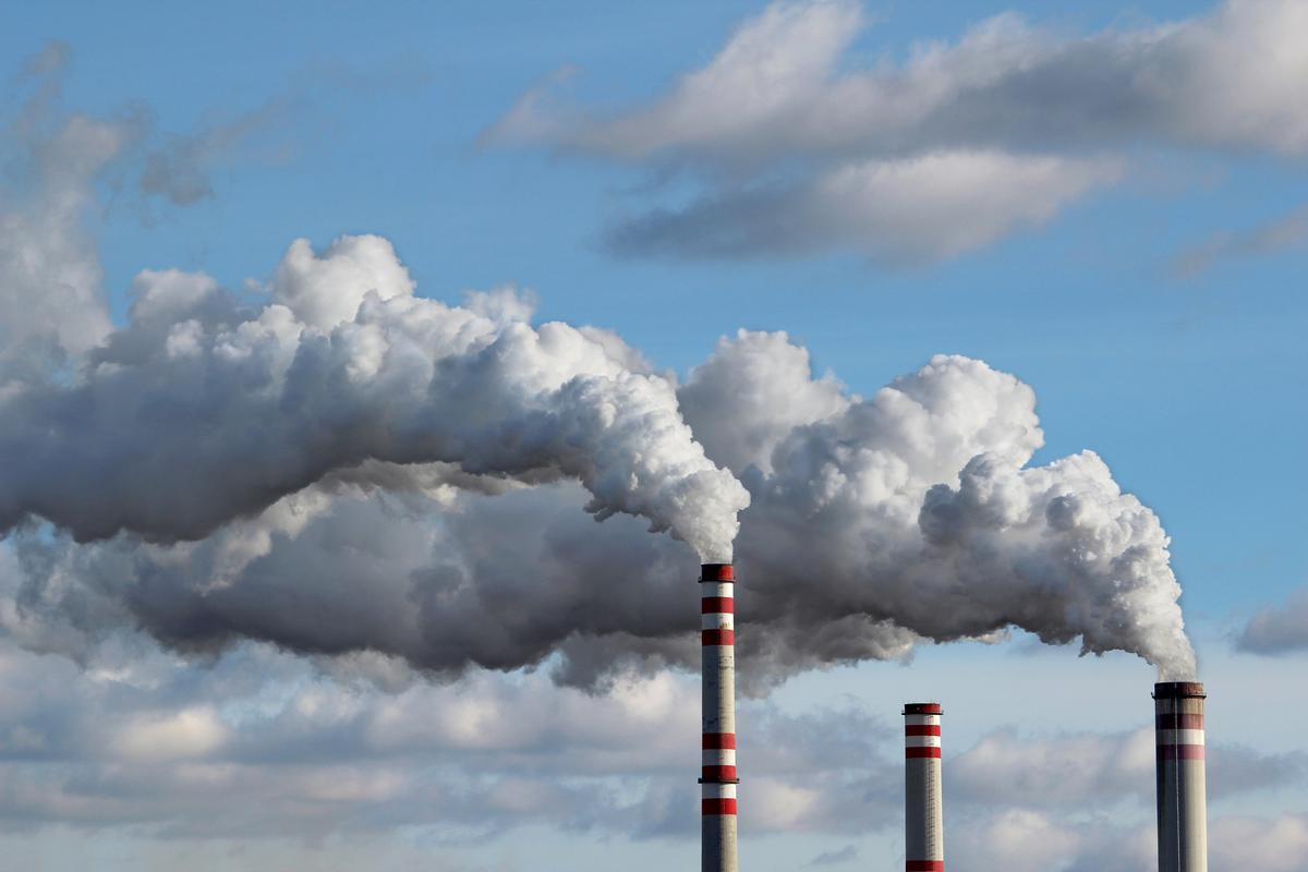 While the coronavirus pandemic has led to a decline in carbon emissions in some areas, the effect is expected to be short-lived