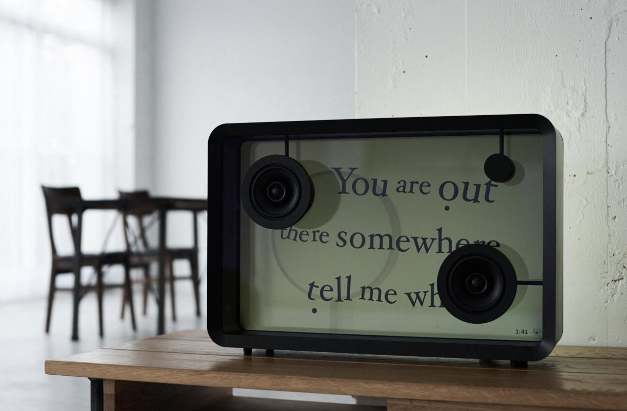 The Lyric Speaker requires Wi-Fi internet access