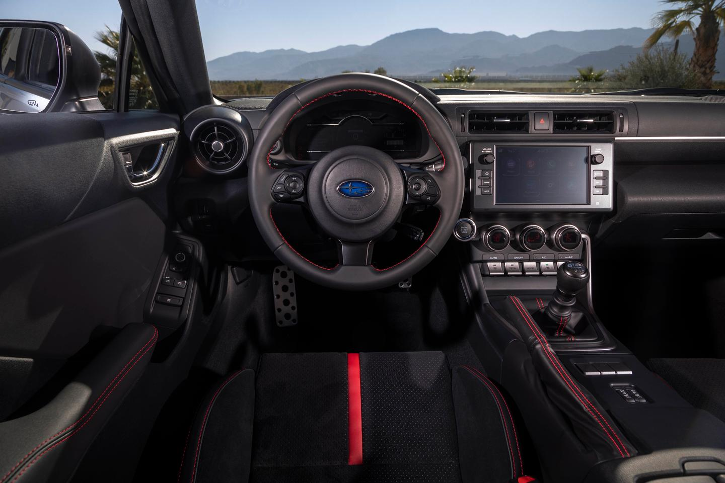 Subaru wanted to step up the interior appeal of the 2022 Subaru BRZ to make it feel more upscale