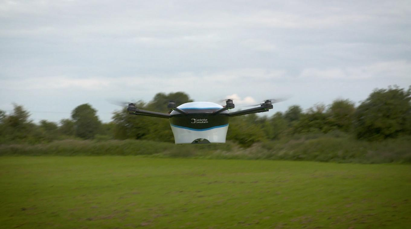 The real-life DelivAir octocopter demodrone