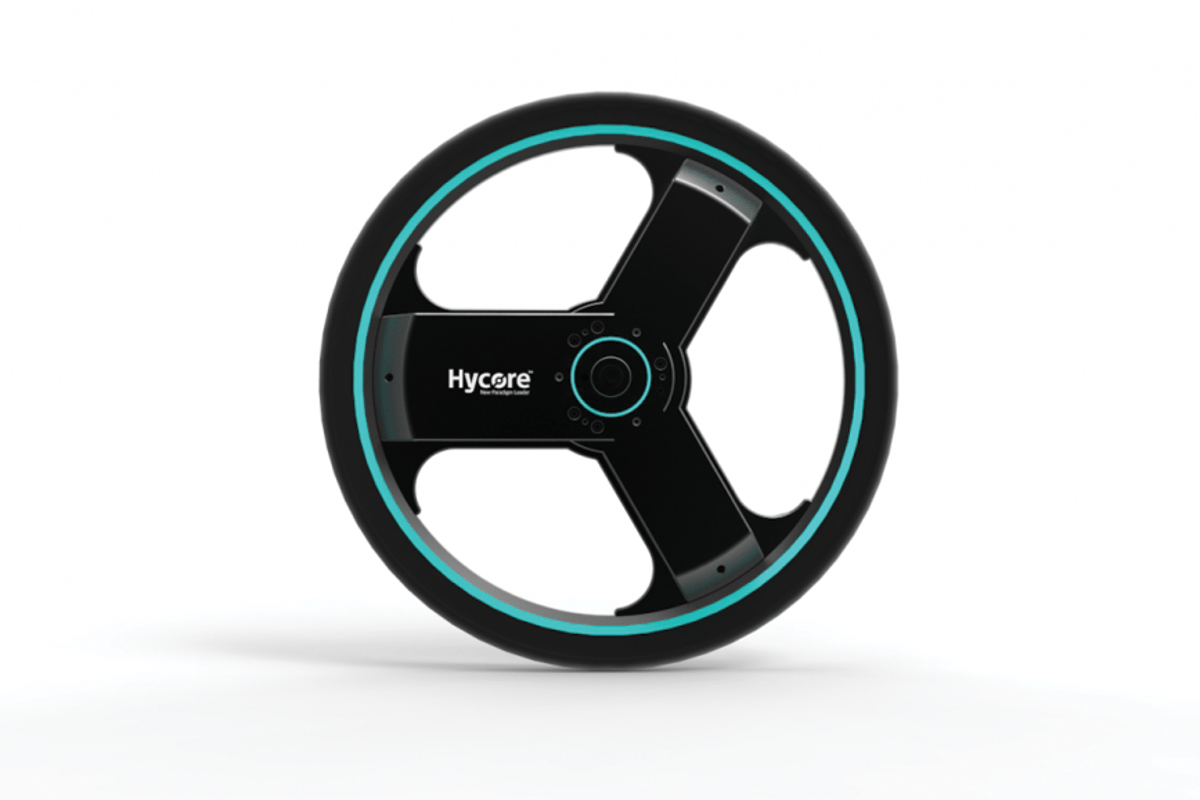 The Centinel Wheel replaces an existing bike's rear wheel