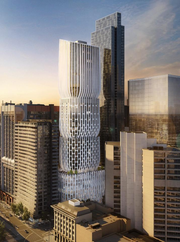 Zaha Hadid Architects is working alongside Australasian firm Plus Architecture and local developers Landream on the project