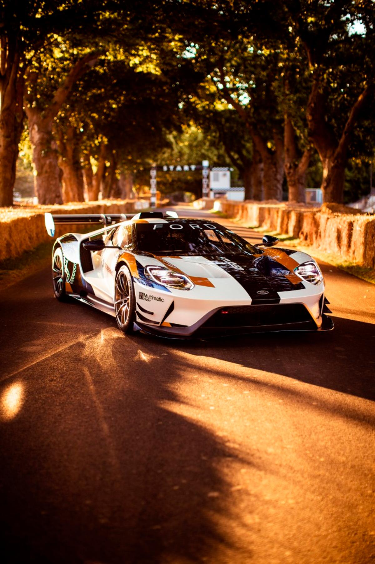 The FordGT Mk II, built for the track