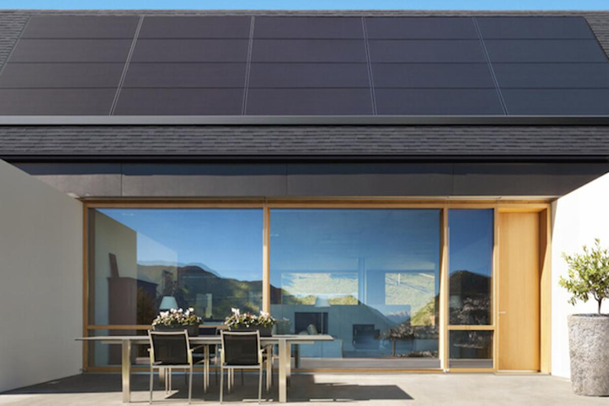 Tesla has unveiled new solar panels designed to blend into a roof
