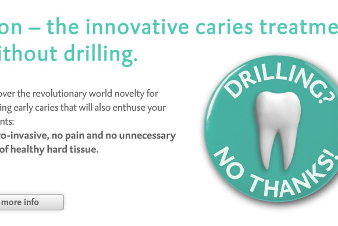 Death knell for the dentist's drill?