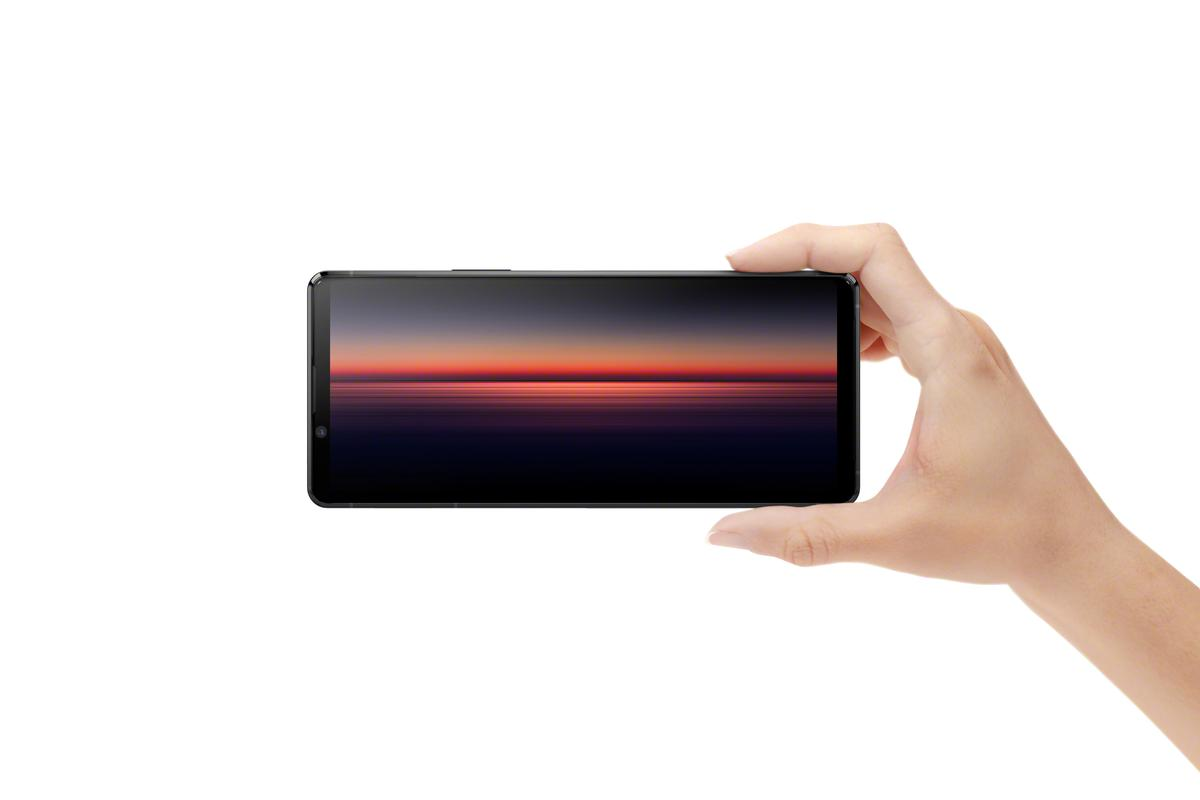 The Xperia 1 II features a 21:9 4K HDR OLED display
