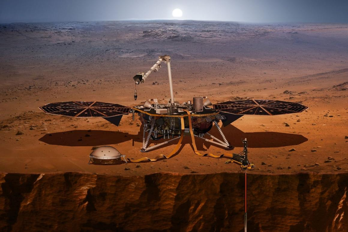 InSight has landed on Mars after a 7 month-longjourney