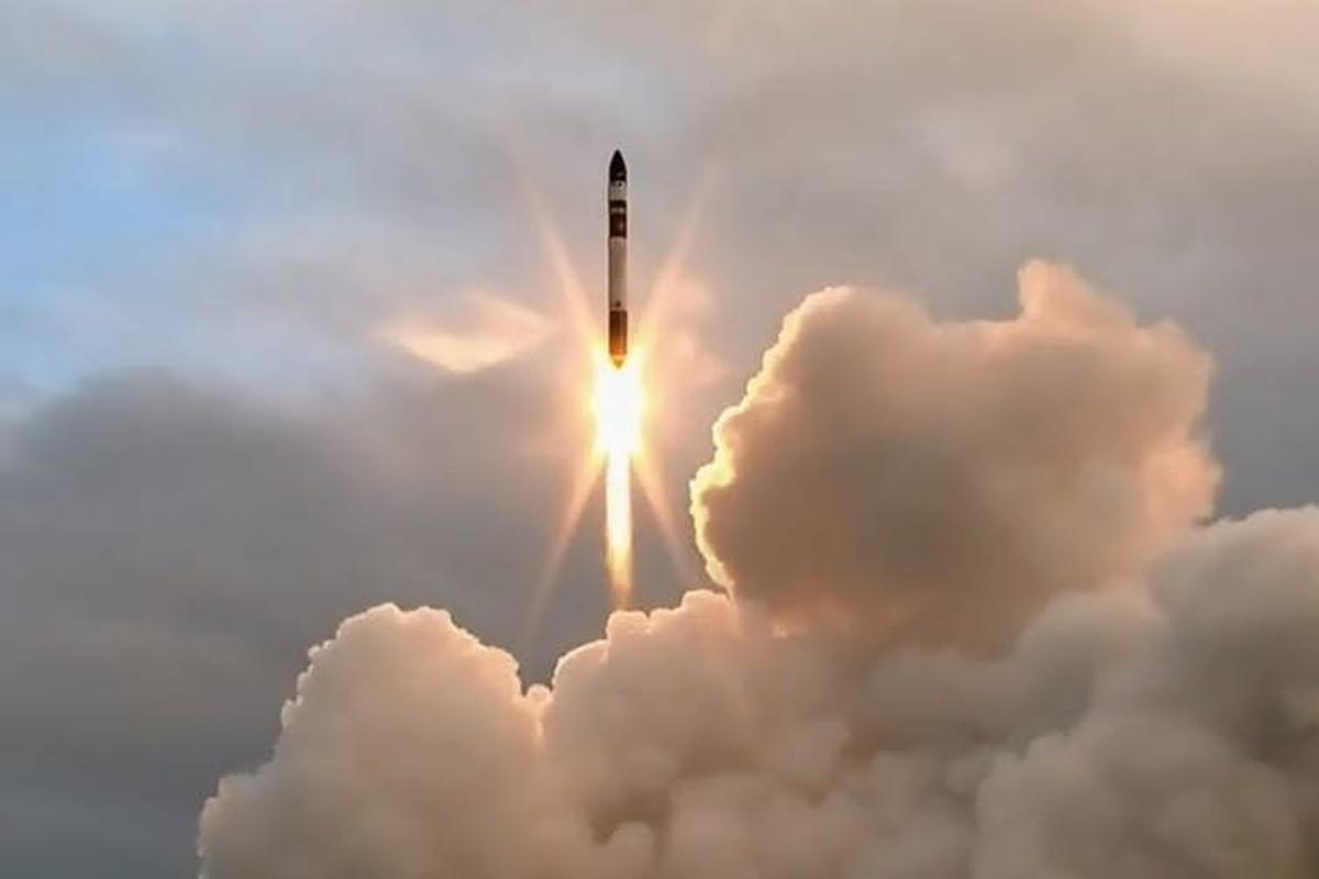 The first launch of the Electron rocket failed due to a telemetry error