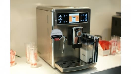 Saeco's Xelsis automatic coffee machine