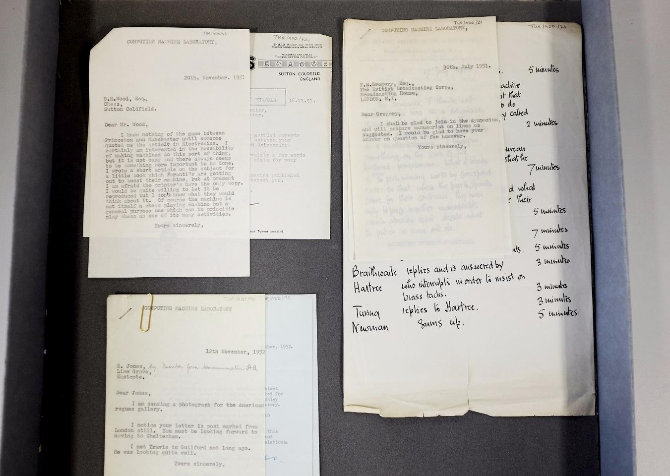 A selection of the documents included in the new find