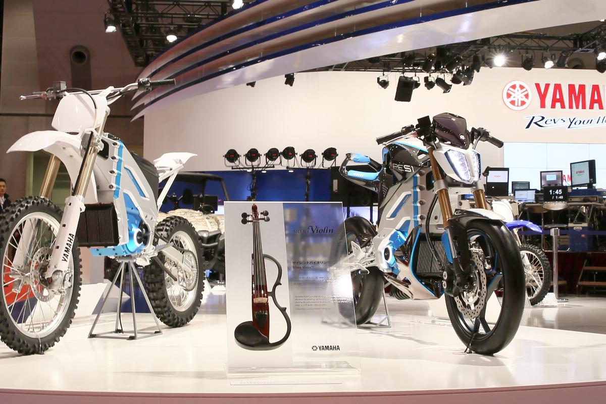 Yamaha's PED1 and PES1 at the Tokyo Motor Show