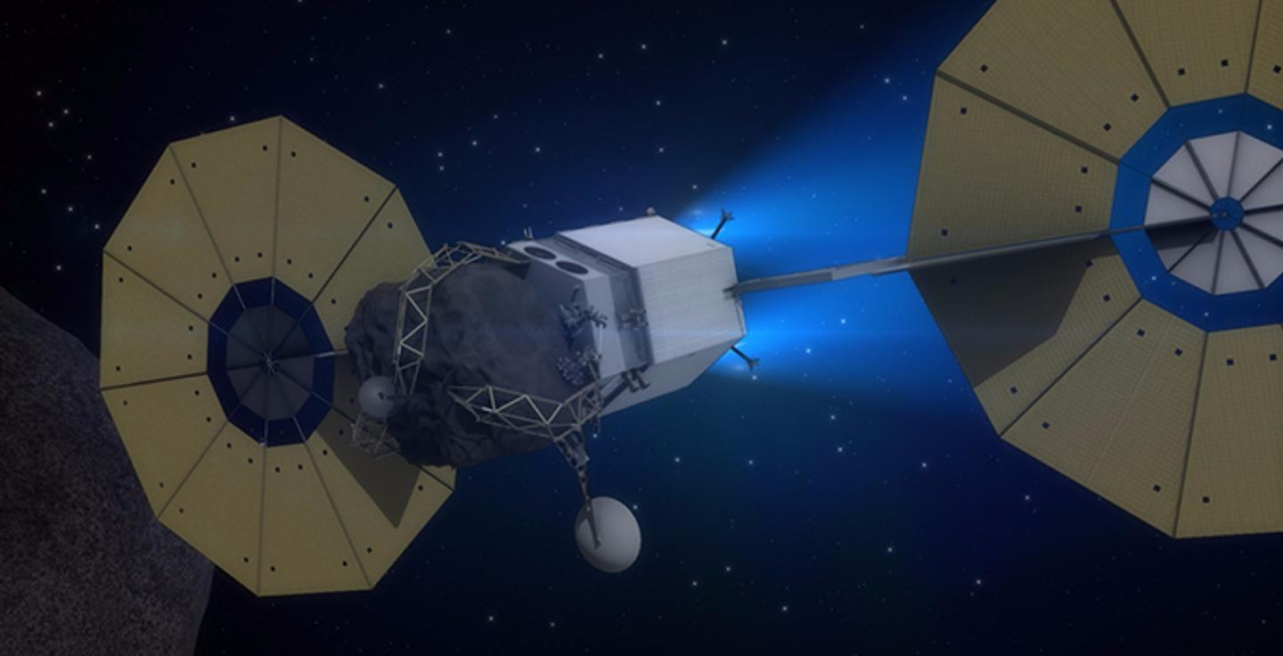 The new gamma ray spectroscope could be fitted to asteroid surveying spacecraft
