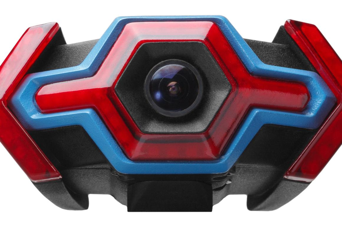 The Hexagon combines a tail light, camera, turn indicators and other features in one unit