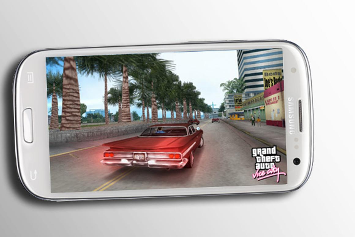 There's a good chance Galaxy S III owners will see something like this soon (simulated image, screen: Rockstar Games)