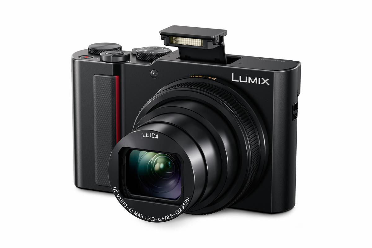 Panasonic's latest travel compact has a 1-inch sensor, an ultra-wide 24 mm Leica lens and a new eco mode to get more out of its battery