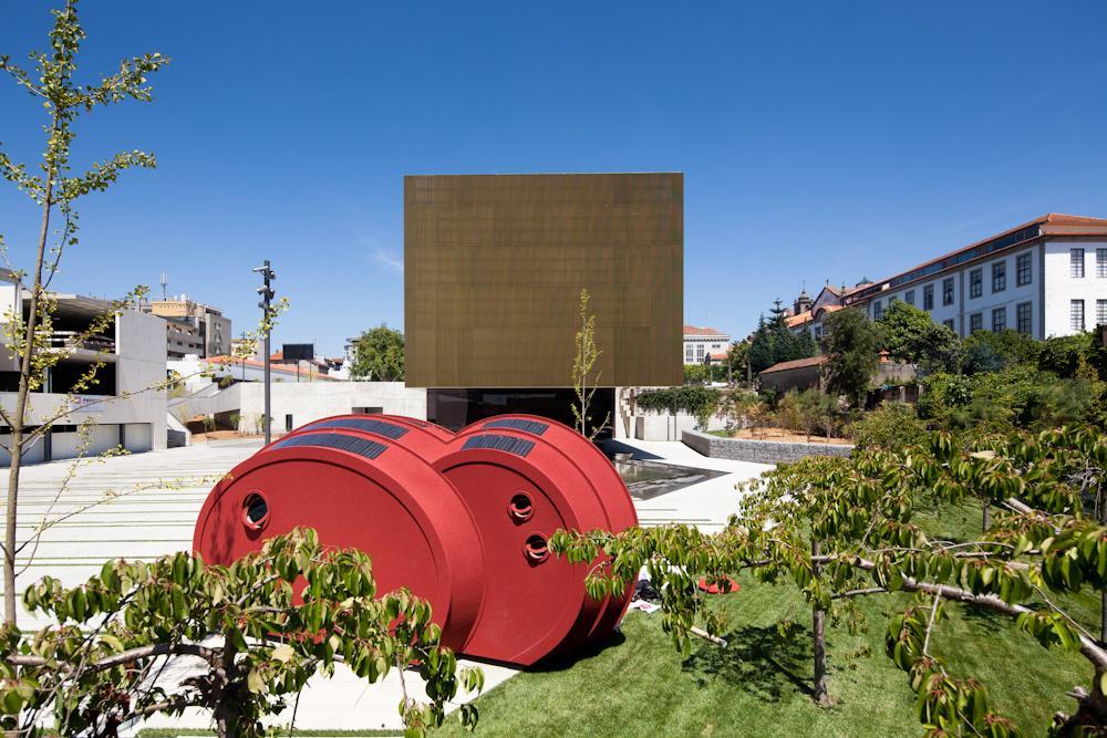 Shelter ByGG is a habitable module made mainly of cork (Photo: Joao Morgado)