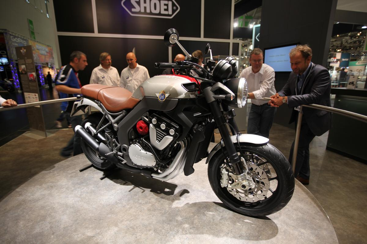 The Horex VR6 supercharged motorcycle
