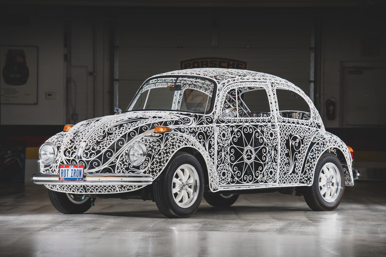 """1970 Volkswagen Beetle """"Casa Linda Lace"""" by Rafael Esparza-Prieto"""