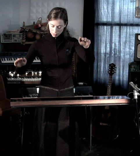 Musician Jo Hamilton is the first to use the Airpiano